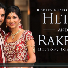 Hetal + Rakesh | Gujurati Cinematic Hindu Highlights by Robles Video Productions