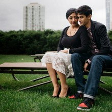 Nimit + Puja // Chicago Engagement Session by Sapan Ahuja Photography