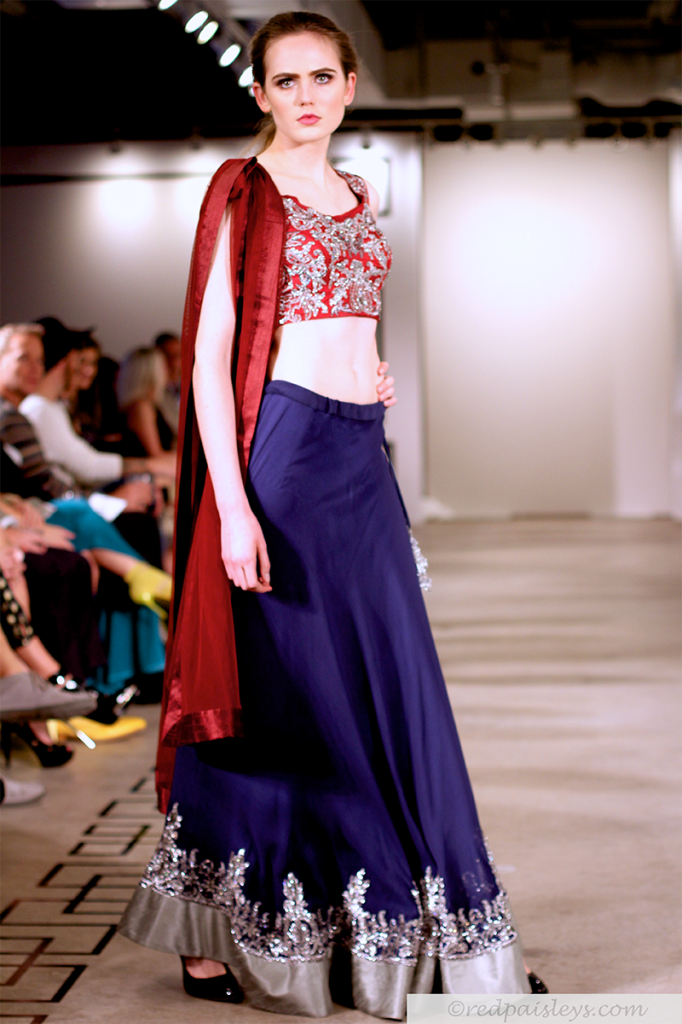 FXD Red Paisleys Runway-015