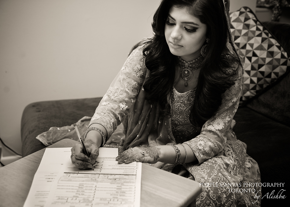 Purple Canvas Photography - Toronto - Nikkah S+T