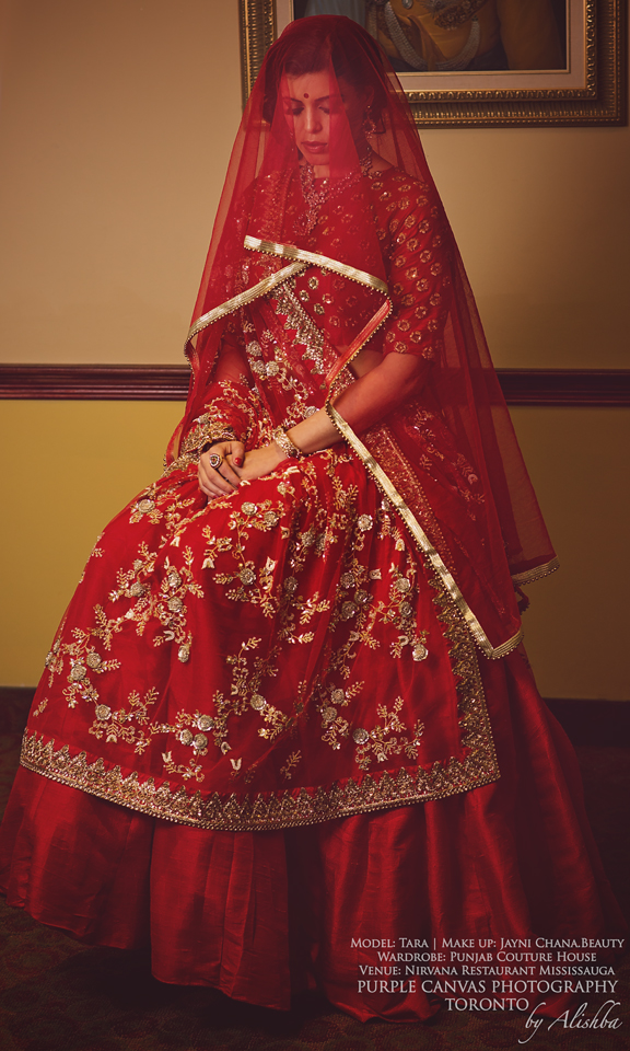 Purple Canvas Photography - Toronto - Moghul Indian Bride