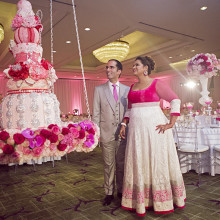 Pooja + Amin // Orange County Indian Wedding Reception
