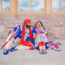 Nav + Manny // Canadian Indian Wedding