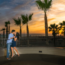 Neha + Ankur // Huntington Beach Engagement Session
