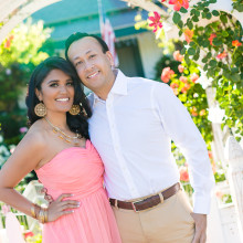 Riddhi + Vishall // Bella Collina Towne & Golf Club Engagement Session