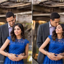 Swetha + Sharin // California Engagement Session