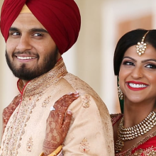 Jasmine + Arshdeep // Cinematic Sikh Wedding Day Highlights