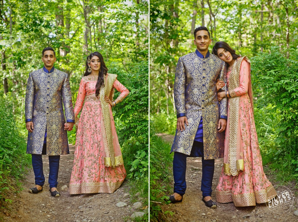 South Asian Michigan engagemnet photos 1