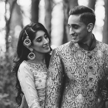 Meena + Gagan // Michigan Engagement Session