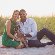 Lauren + Shami // Florida Engagement Session