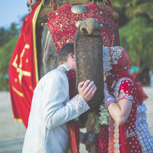 Sophie + Russell // Goa, India Destination Wedding