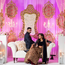 Pratik + Heta // Outdoor NJ Dreamy Drape Wedding