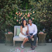 Kamana + Shivanth // California Proposal Story
