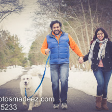 Aarti + Ajay // New Jersey Engagement Session