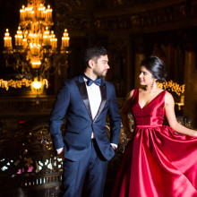 Reshma + Anil // New Jersey Engagement Session