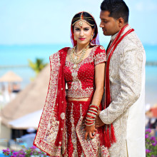 Nikyta + Shashi // Cancun, Mexico Destination Indian Wedding