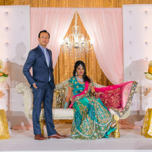Riddhi + Vishall // Costa Mesa Indian Wedding