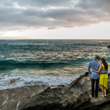 Shana + Rishi // Laguna Beach Engagement Session