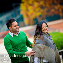 Sunita + Vishal // New Jersey Engagement Session