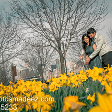 Reena + Rimpal // Liberty State Park Engagement Session