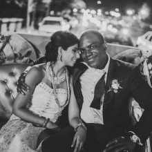 A Gorgeous Washington DC Indian Fusion Wedding