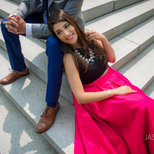 Afra + Ali // Engagement Session, University of Massachusetts in Amherst