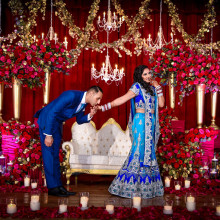 Anjali + Sandeep // Boston Crimson Romance filled with Grandeur