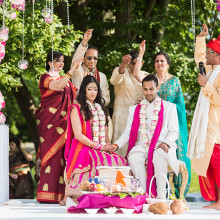 Megha + Anoop // Sleepy Hollow, New York Indian Wedding