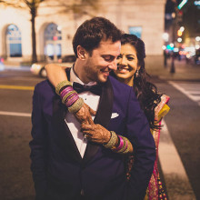 Smitha + Peter // Washington DC Indian Fusion Wedding