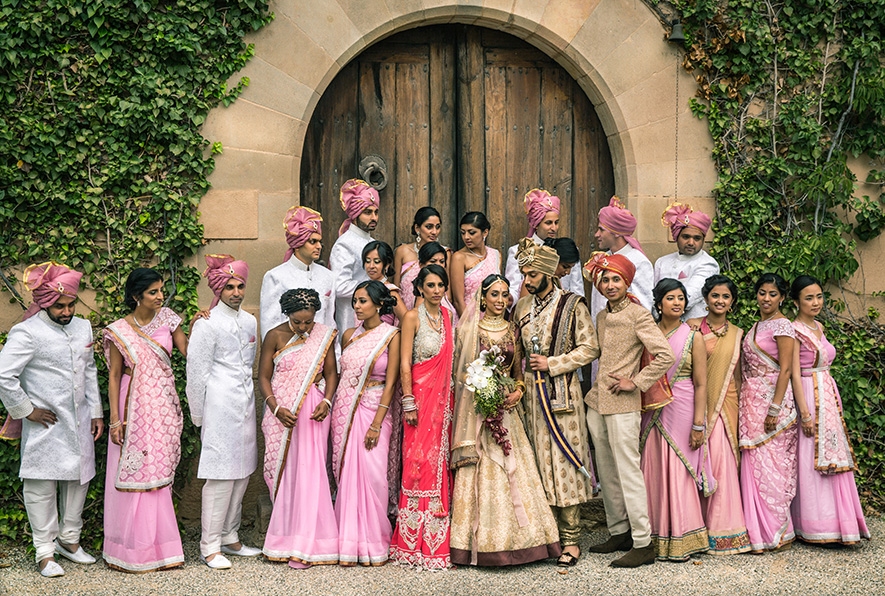 Indian-American Destination Wedding in Barcelona