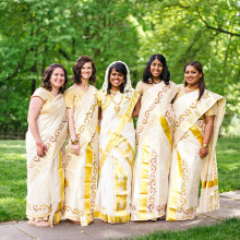 Sheila + Russ // DC Indian Fusion Outdoor Wedding