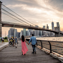 Pooja + Sidharth // NYC Engagement Shoot