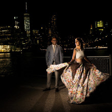 Monica + Neeraj // Engagement Session New York City