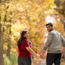 Madhura + Ameya // New Jersey Engagement Shoot
