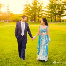 Palak + Navi // Deer Creek Golf & Banquet Facility Engagement Session