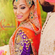 Trisha + Barinder //Sikh & Bengali Wedding by G+H Photography