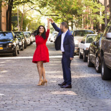 Smruti + Puneet // NYC Engagement Session by Priyanca Rao Photography