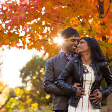 TJ + Naveen // Central Park Engagement Session