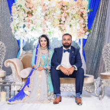 Fariza + Ali // Toronto Indian Wedding by Qiu Photography