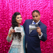 Rida + Jay // Wedding Reception Photobooth by O Snap