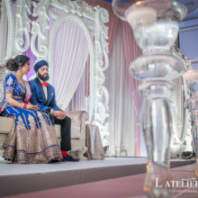 Jasmine & Kunwar // Toronto Sikh Wedding by  L'Atelier Lumière International Photographie