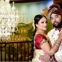 Prasanthi + Anand // Cinematic Wedding Day Highlight