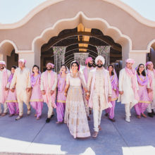 Jasmine + Mandeep // Scottsdale AZ Indian Wedding by Ushna Khan Photography