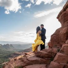 Nilam + Jay // Sedona Engagement Session by Peter Nguyen Photography