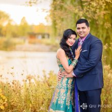 Jenny + Amit // Toronto Indian Wedding by Qiu Photography