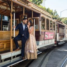 Simy + Jensen // San Francisco Engagement by Peter Nguyen Photography