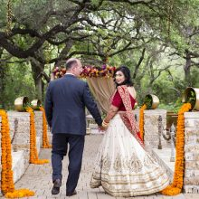 Shilpa + Steven // Texas Indian Wedding by Wild Sky Events