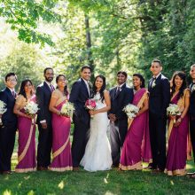 L + J // Seattle Indian Wedding by Jerome Tso Photography