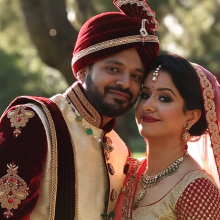 Shyam + Kamini // Cinematic Wedding Video by Robles Video
