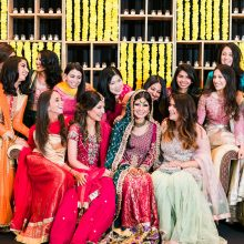 Shaina + Sher // Mehndi Celebration by Ushna Khan Photography